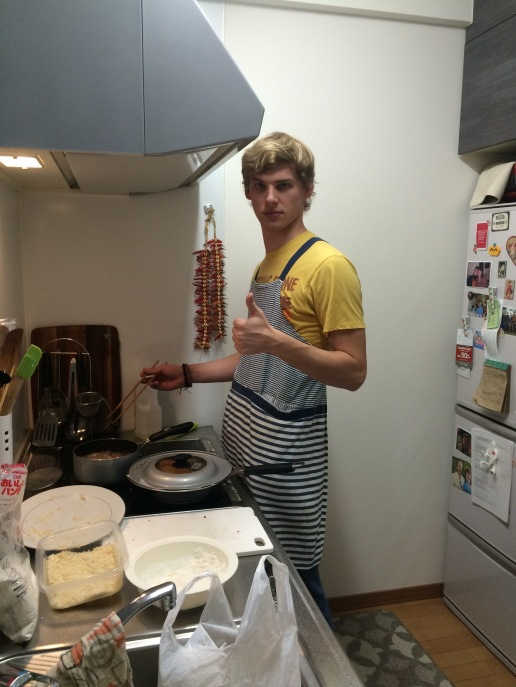 Will enjoys cooking.